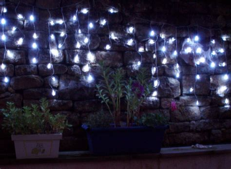 guirlande lumineuse noel stalactite exterieur solaire led blanche