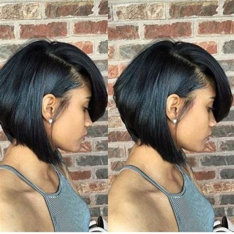 15 best ideas of short hairstyles for black round faces photo gallery of short black bob haircuts viewing 5 of 15