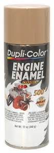 Krylon Spray Paint Colors - duplicolor cummins beige engine paint with ceramic