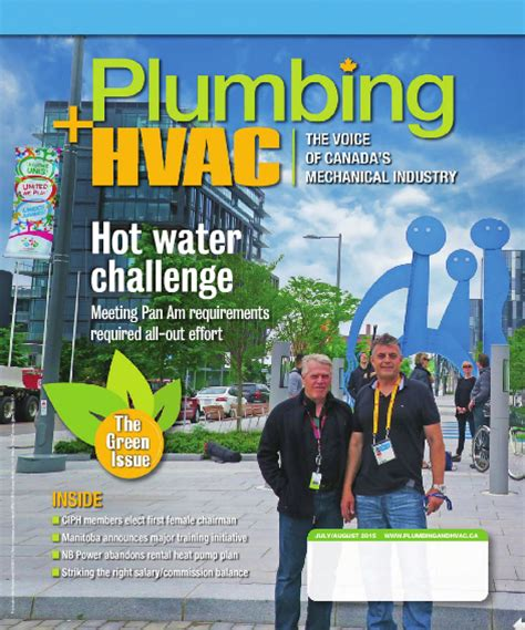 Plumbing Heating Magazine by Marked Business Media Acquires Newcom Publication
