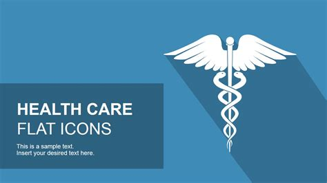 Flat Healthcare Icons For Powerpoint Slidemodel Healthcare Powerpoint Template