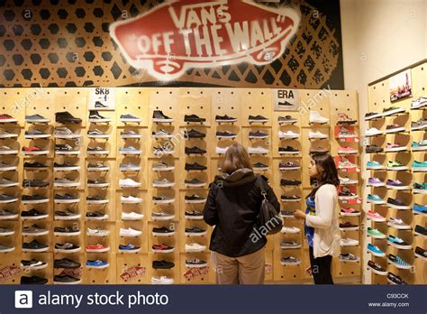 vans shoe store bmother and uying vans shoes in a vans shoe shop