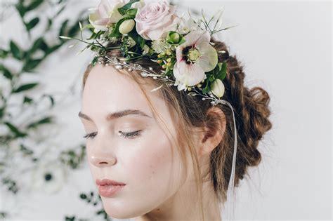 Fresh Flower Crown Portland Bridal Show Trends