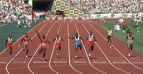 Hinomiya Beta Line Senar 100m olympic 100m seoul 1988 in pictures science the guardian