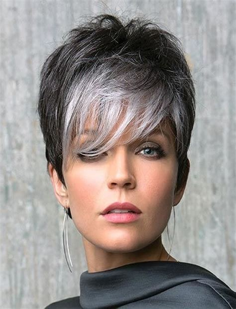silver pixie hair cut gray pixie haircuts haircuts models ideas