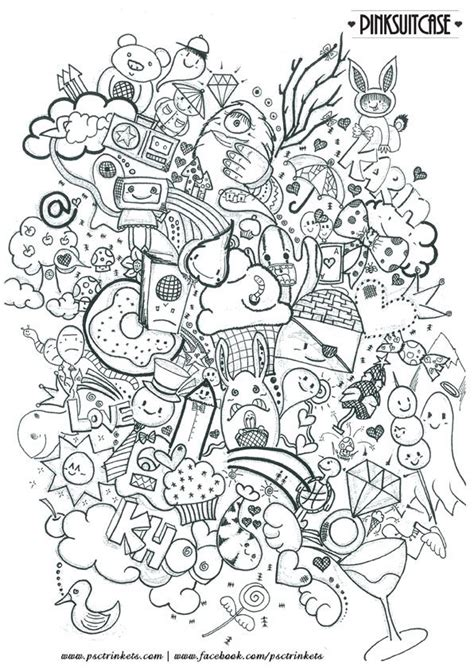 cute advanced coloring pages new adult colouring book doodle coloring pages kawaii