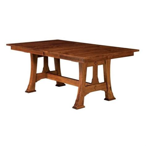 amish mission trestle craftsman dining 17 best ideas about trestle dining tables on
