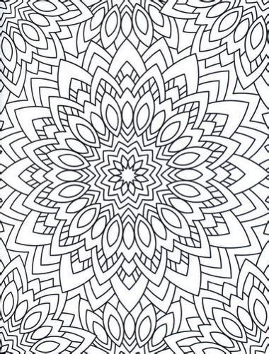 stress less coloring book 30 intricate detail page mandalas for coloring in for relaxation and stress relief books 75 best stress busting coloring books for adults
