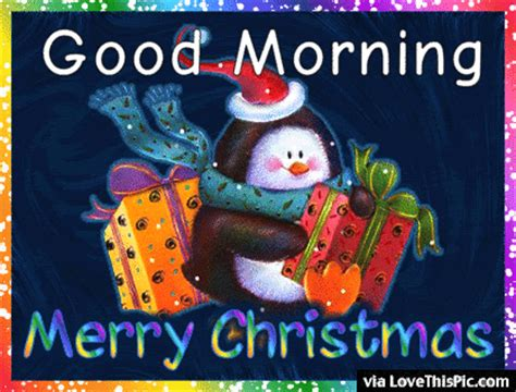 cute good morning merry christmas gif pictures   images  facebook tumblr