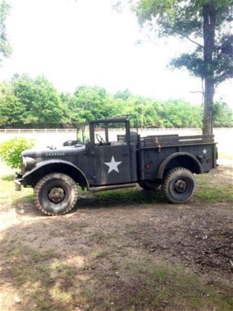 sell   dodge power wagon  military   winnsboro louisiana united states