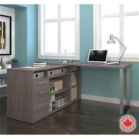 bestar solay gray l shape desk