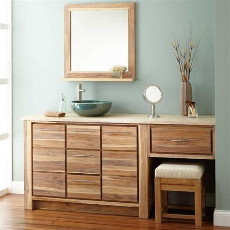 outstanding bathroom vanity  makeup counter ideas