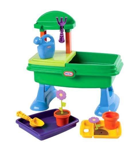little tikes toy bench little tikes garden table kids toy game ebay