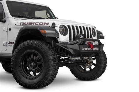 jeep rubicon winch bumper 2018 jeep wrangler jl winch front bumpers shop now