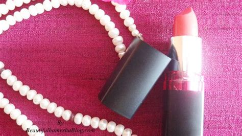 Maybelline Rock The Coral maybelline color show matte lip color rock the coral review