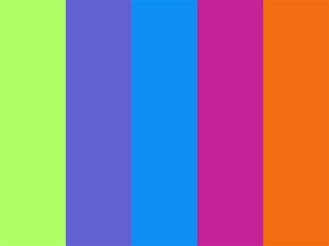 purple and orange color scheme orange pink green blue color palette so fun summer