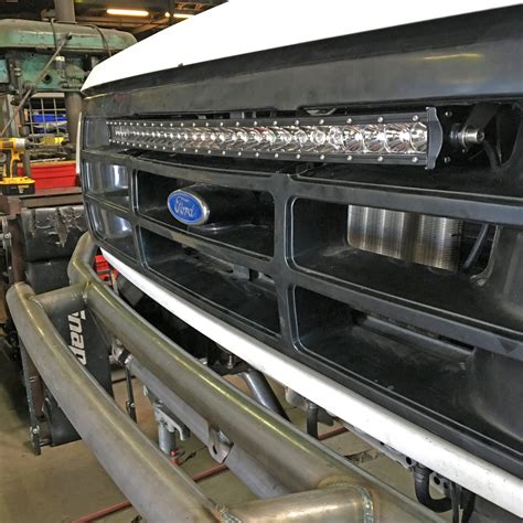 ford bronco light bar 30 single row curved led light bar bracket ford bronco