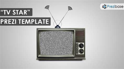 Tv Star Prezi Template Prezibase Prezi Newspaper Template