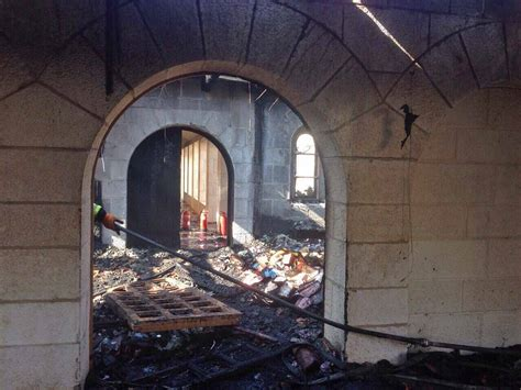 Superior Morningstar Church #1: Damage-at-Church-of-the-Multiplication-in-Tabgha-on-the-Sea-of-Galilee.-Latin-Patriarchate-of-Jerusalem.jpg