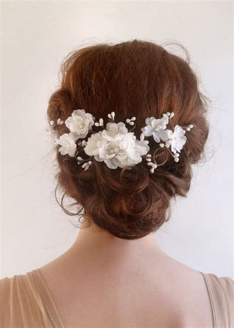 hair accessories for a wedding accessories bridal hair comb white flower 2226176