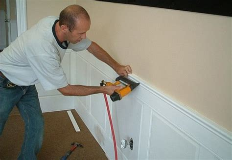 How To Install Raised Panel Wainscoting by Installing Raised Panel Wainscot I Elite Trimworks