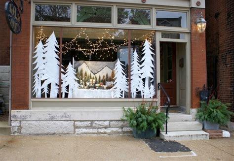 Fensterdeko Weihnachten Winter by Feine Fensterbilder Zu Weihnachten Und Winterzeit