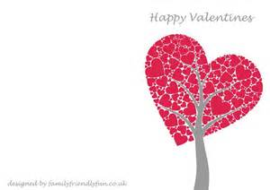 Free Valentines Card Templates by Free Beautiful Printable S Day Card Design