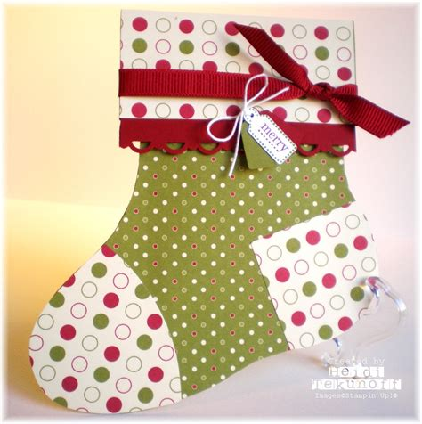 Stocking Gift Card Holder - two happy sters stocking gift card holder
