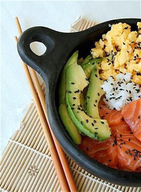 recette de cuisine japonaise chirashi ou chirachi au