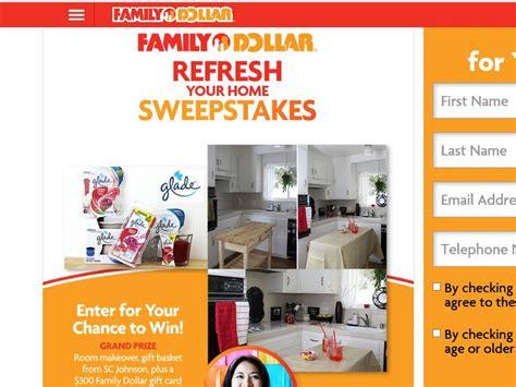Family Dollar Sweepstakes - the family dollar home refresh sweepstakes sweepstakes fanatics
