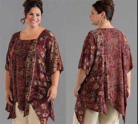 model batik kantor orang gemuk model baju batik kantor untuk orang gemuk