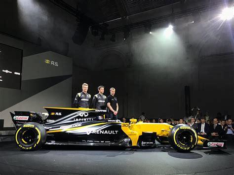 renault reveals 2017 f1 challenger in sports