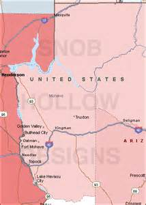 mohave county arizona color map