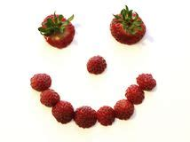 strawberry face shape smiley strawberry stock vector illustration of health
