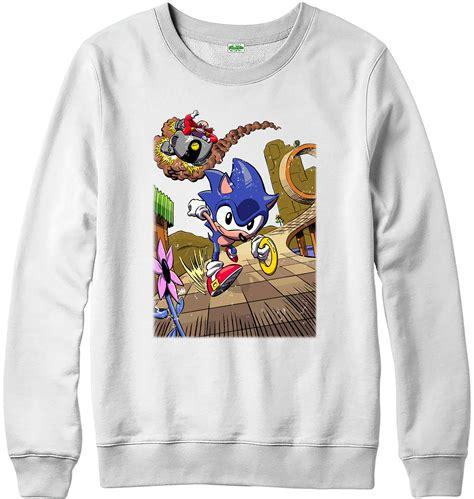 Hoodie Eggman Sonic 11 sonic jumper sonic the hedgehog running dr eggman and sizes ebay