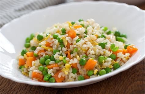 vegetables and rice light easy vegetable fried rice recipe sparkrecipes