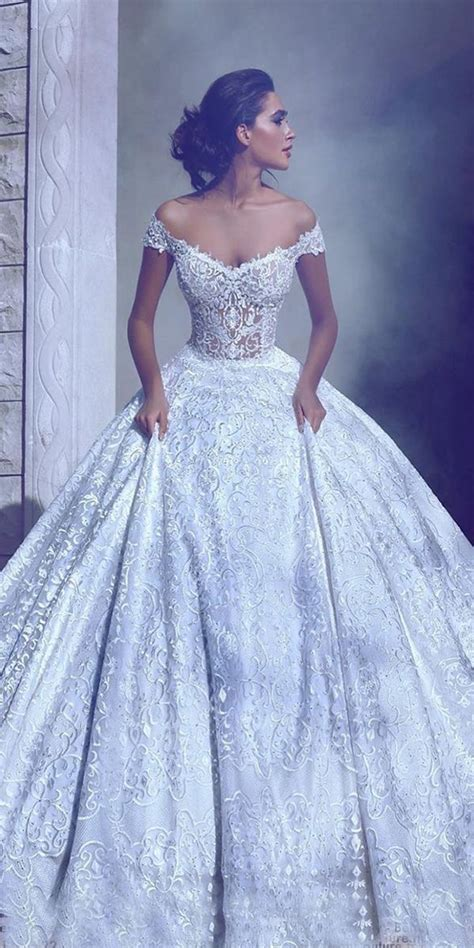 21 Top Wedding Dresses 2018   Ball Gown & A line Wedding