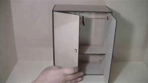guardarropa de juguete armario para casita de mu 241 eca en fibrofacil youtube