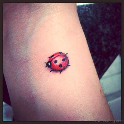 ladybug tattoos 29 phenomenal ladybug tattoos on wrist
