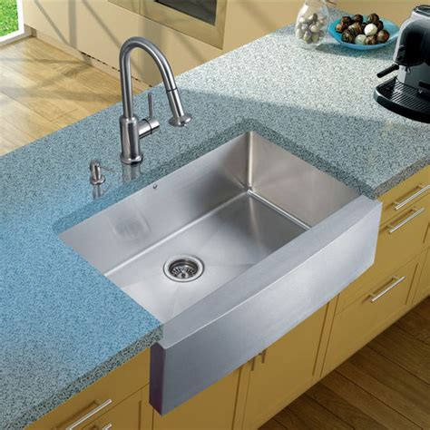 Faucet For Farmhouse Sink by All In One 33 Quot Bedford Stainless Steel Farmhouse Kitchen