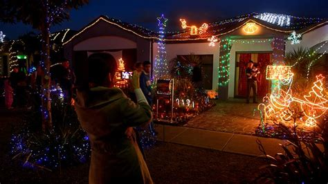neighbours light up festive spirit in point cook