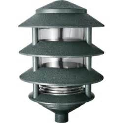 rab landscape lighting rab lighting green 100w incandescent 4 tier landscape lawn