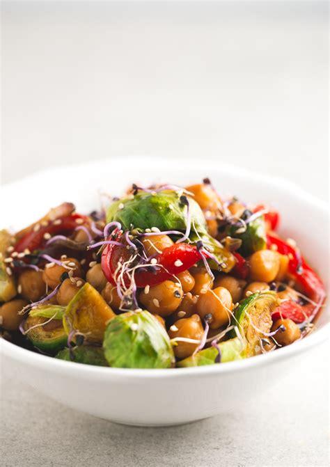 vegetables used in stir fry chickpea and vegetable stir fry simple vegan