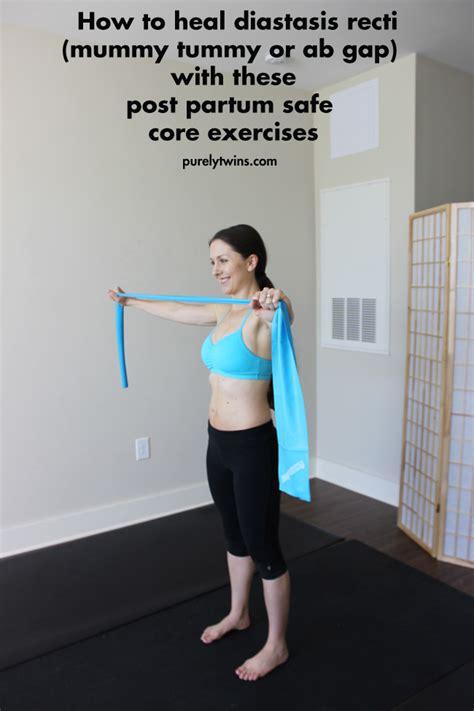 moves   heal diastasis recti ab separation  pregnancy
