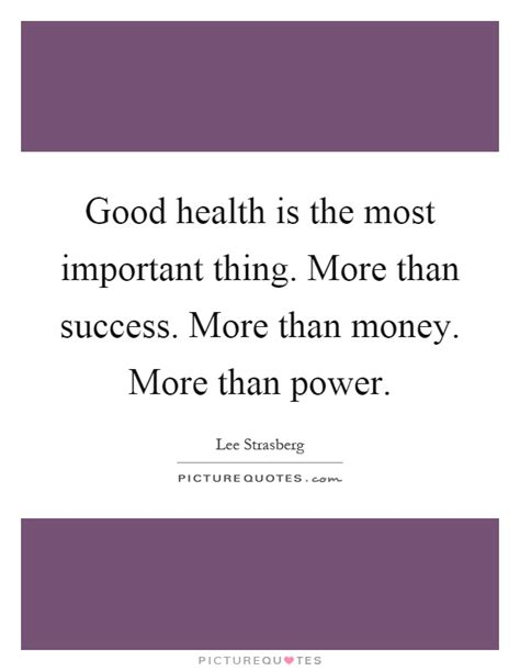 More Than Money Questions Every Mba Needs To Answer by Health Is The Most Important Thing In Essay