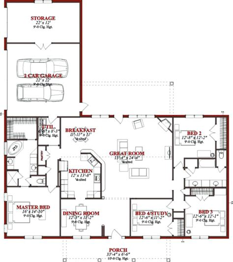 house floor plans 2 story 4 bedroom 3 bath plush home home ideas inspiring family house plans ranch floor plans house 4 bedroom 2 bath 1 story bedrooms
