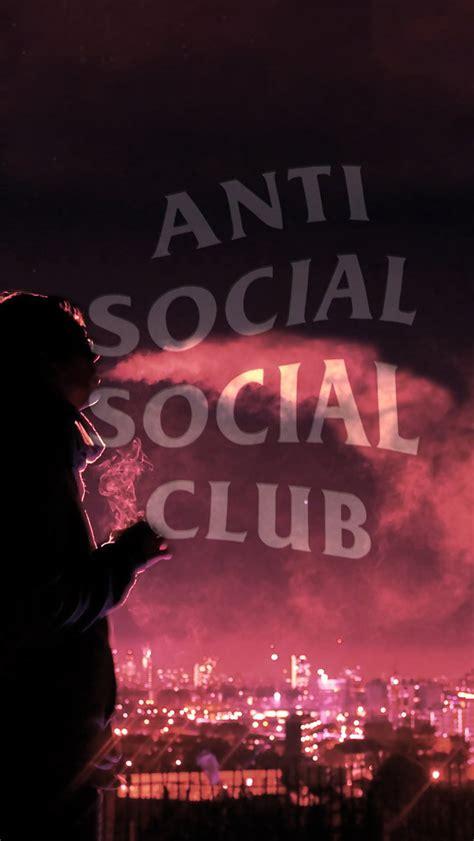 Iphone 6 6s Plus Anti Social Club Supreme Hardcase 1 anti social social club iphone wallpaper hd