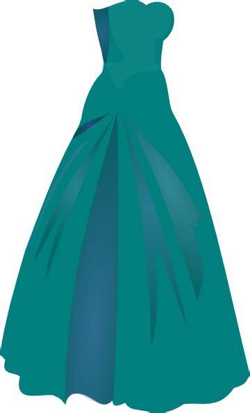 green dress princess clip at clker vector clip