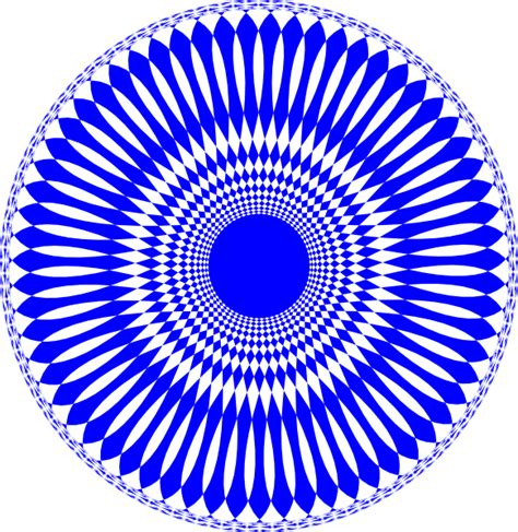 art design in circle blue abstract circle design clip art at clker com vector