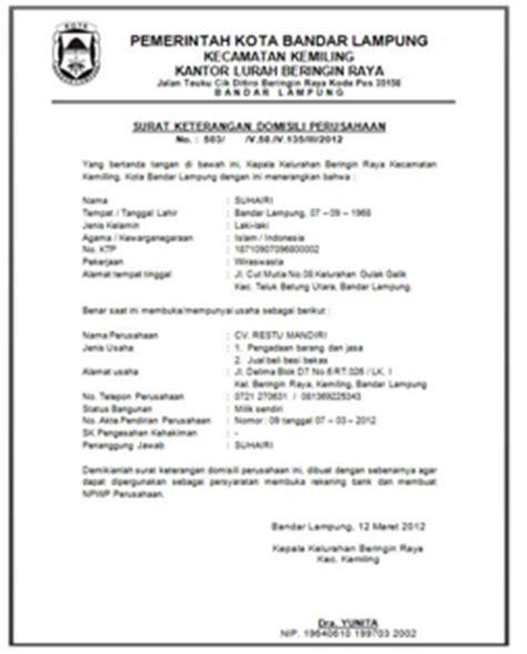 wayansuryaadi prosedur pembuatan perusahaan mendapatkan tender